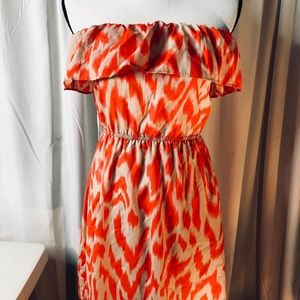 Be Stitched Strapless Mini Dress S